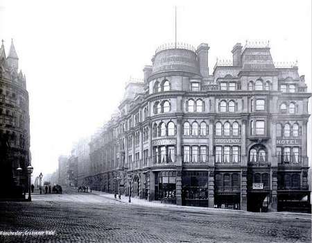 Grosvenor Hotel, Deansgate and Victoria Bridge Street, Manchester